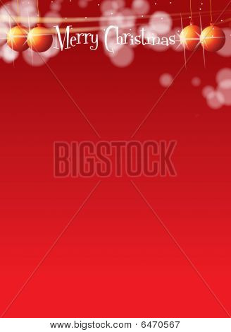 Christmas Themed A4 Banner