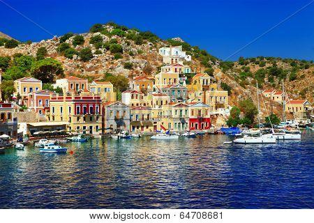 scenic Greece -Symi island
