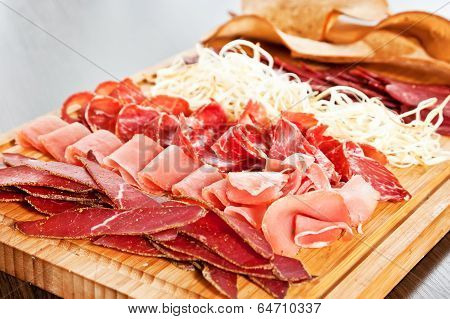 Assorted Meat Delicatessen