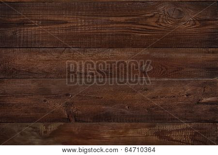 Wood Texture Plank Grain Background, Wooden Desk Table Or Floor, Old Striped Timber Board