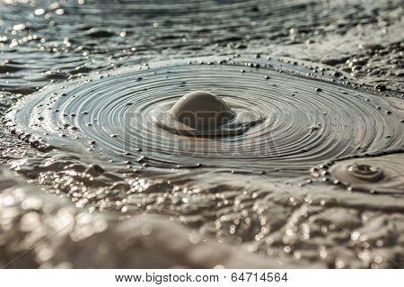 Mud bubble