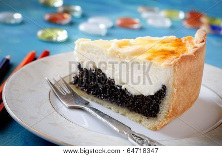 Cottage Cheese And Poppy Seed Cake