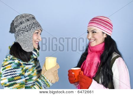 Friends Woman Conversation And Laughing