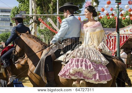 April Fair In Seville