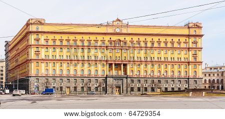 Kgb Building In Moscow