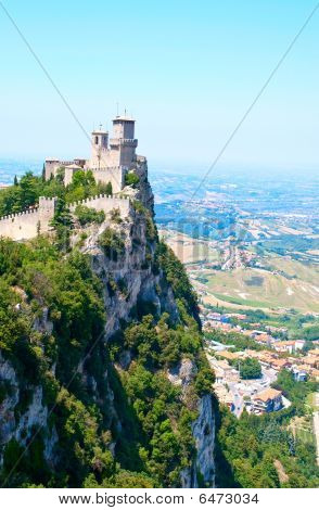 The Castle In San Marino