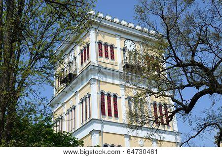 Gomel, Rumyantsev-paskevich Palace, Tower