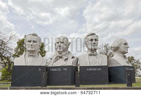American Statesmanship Park in Houston, Texas