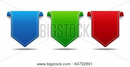 Vector Label Icon Set
