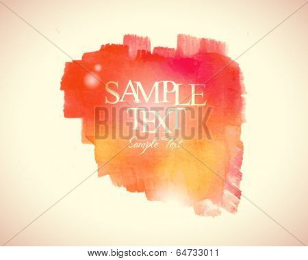 Abstract stylish watercolor background 06