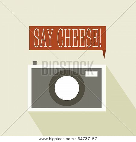 Say cheese to the camera