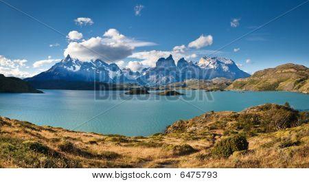 Torres Del Paine National Park - Lake Pehoe &  Los Cuernos (patagonia, Chile)