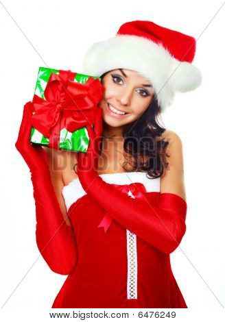 Girl With A Present