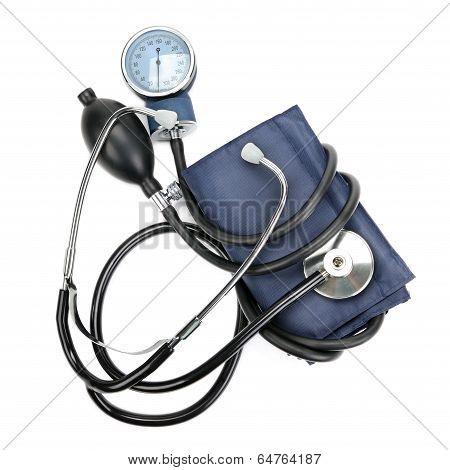 Stethoscope And Hemopiezometer