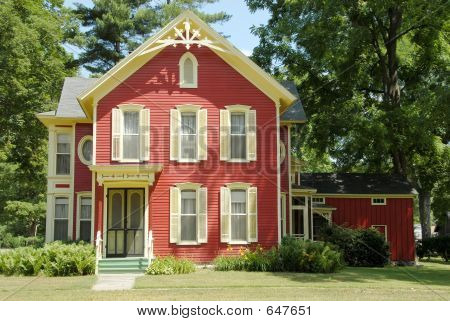 Red Farm House
