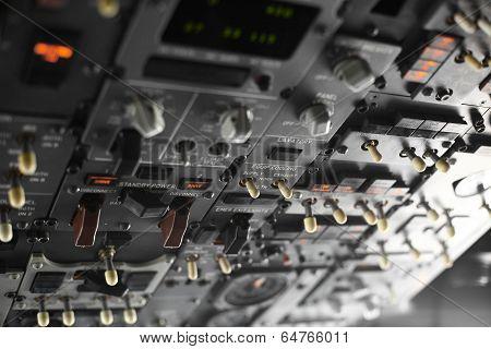 Plane Control Panel