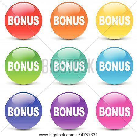 Vector Bonus Set Icons