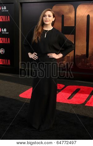 LOS ANGELES - MAY 8:  Elizabeth Olsen at the