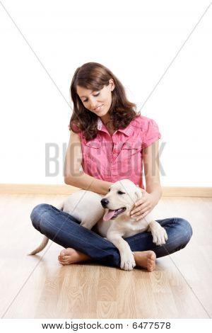 Chica con su mejor amiga