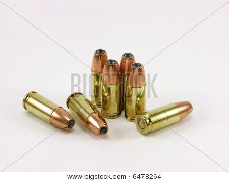 9mm JHP bullets