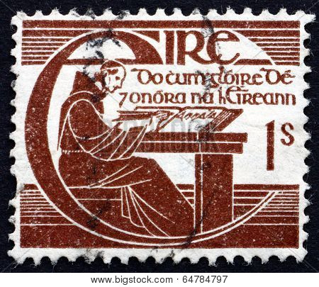 Postage Stamp Ireland 1944 Brother Michael O'clery