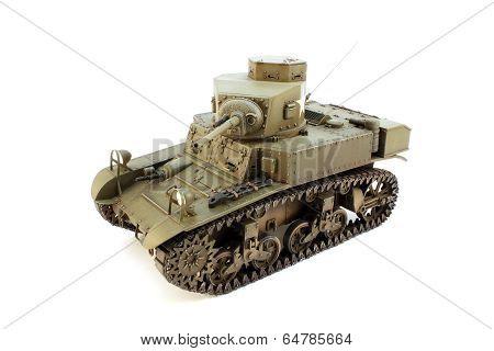 Model M3  Light Tank Top View