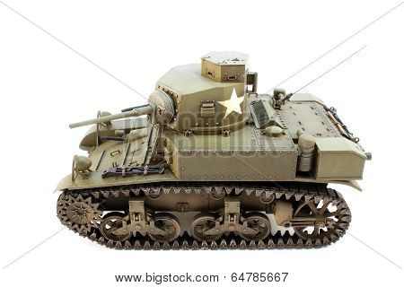 Light Tank M3 View Left