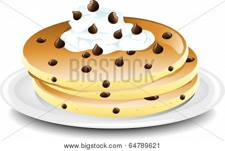 Pancake Chocolate chip