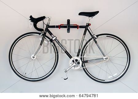 Bike On White Background