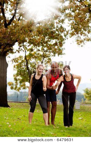 Exercise Park Happy