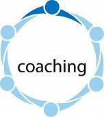 Постер, плакат: Coaching Concept Illustration