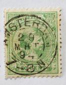 Постер, плакат: Очень старых голландских почтовая марка