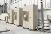 stock photo of air compressor  - Air compressors  - JPG
