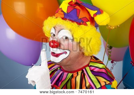 colorful Clown Psst