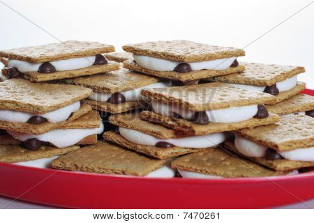 platter of smores