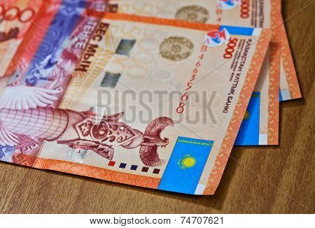 Money Of Kazakhstan -tenge