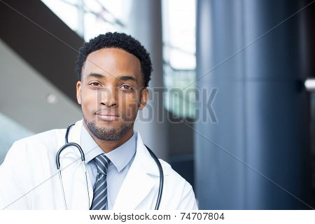 Confident Healthcare Headshot