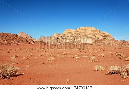 Wadi Rum Desert, Jordan.