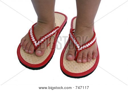 Child In Thongs