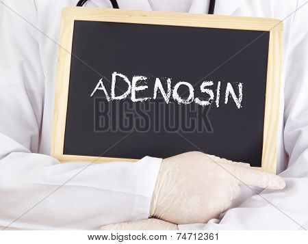 Doctor Shows Information: Adenine Riboside In German