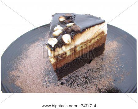artisan chocolate moose cake