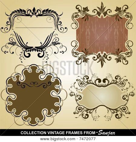 Collection Vintage frames