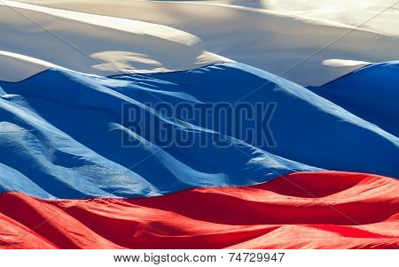 Flag Of The Russian