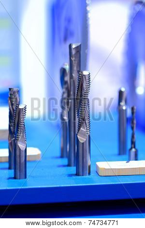 Samples of end mill tool