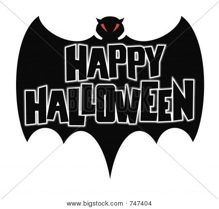 Happy Halloween Bat