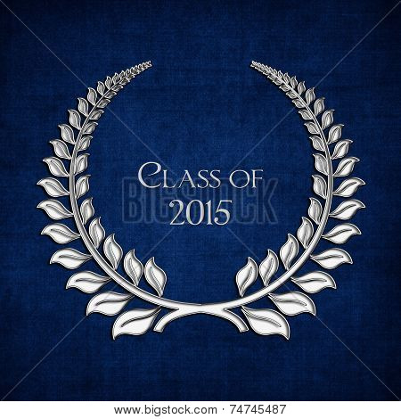 silver laurel for 2015 graduation