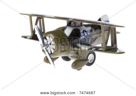 Toy Military Airplane