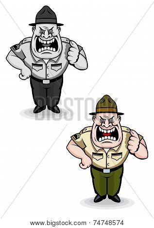 Army sergeant