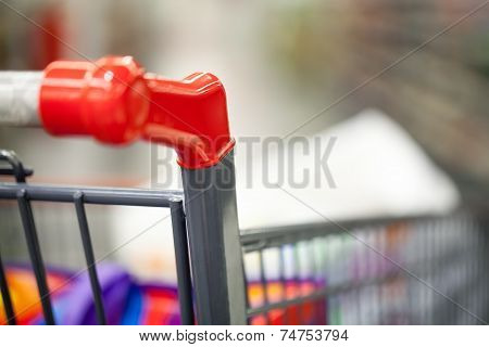 Shopping cart with goods