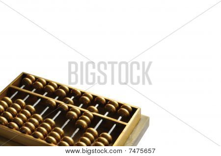 Golden abacus